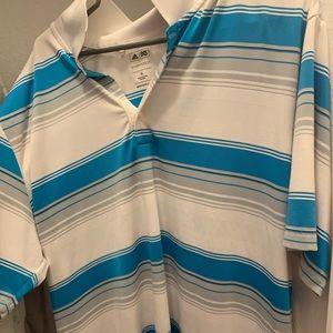 Adidas pure motion XL golf shirt